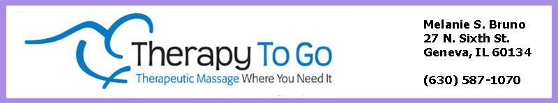 Therapy To Go Massage banner